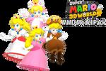 SM3DW Princess Peach MMD Model + DL!