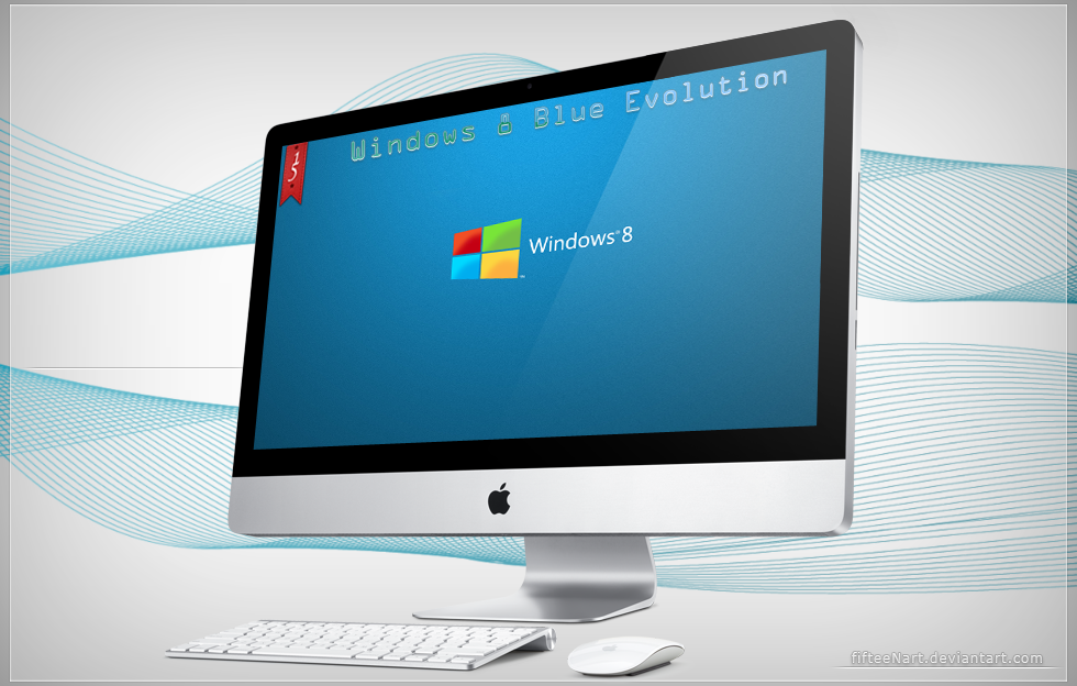 Windows 8 Blue Evolution by fifteeNArt