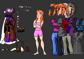 Donna Noble Dress up by Malicious-Alice
