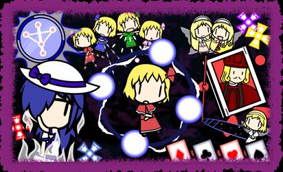 Walfas Custom Characters: Unnamed Makai Characters by Bluyidark