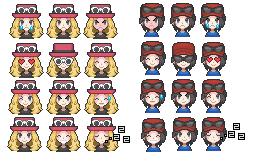 Trainer Emoticons by Miya902 by Miya902