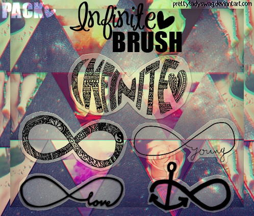 Infinite Brush Pack by PrettyLadySwag