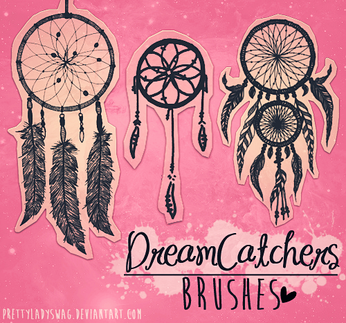 DreamCatchers Brushes by PrettyLadySwag