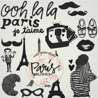Paris Brushes by PrettyLadySwag