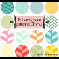 Herringbone Patterns by PrettyLadySwag