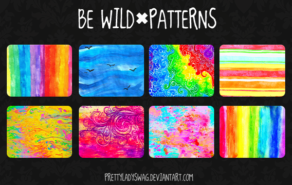 Be Wild Patterns by PrettyLadySwag