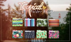Tropical Folder Icons