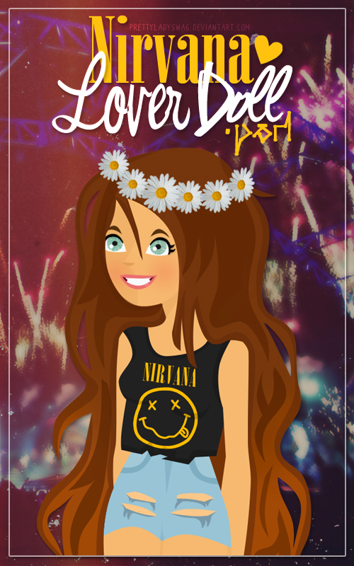 Nirvana Lover Doll PSD by PrettyLadySwag
