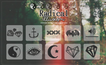 Radical Illusion Brushes