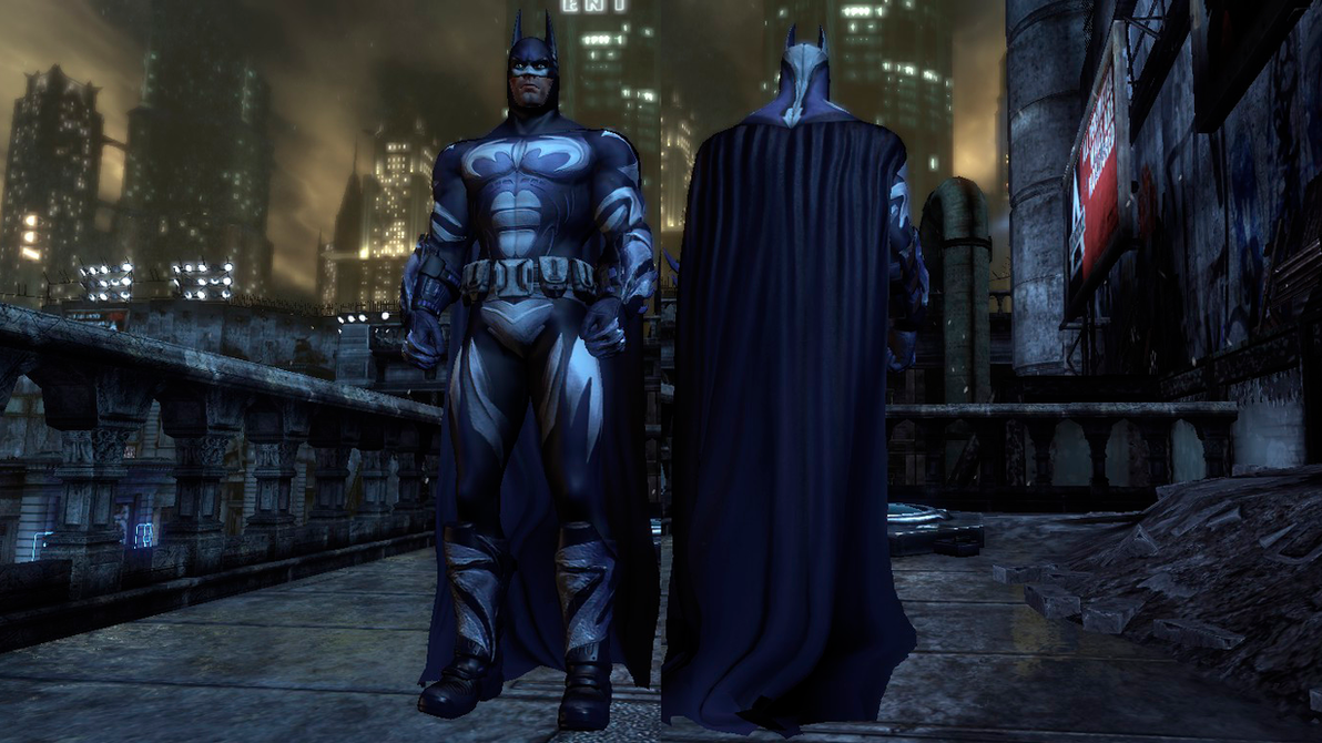 Batman Arkham City And Robin Batsuit By CapLagRobin