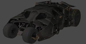 XNALARA - BATMAN ARKHAM KNIGHT - BATMOBILE TUMBLER