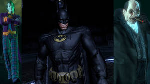 Batman: Arkham City: Burtonverse Batman and others