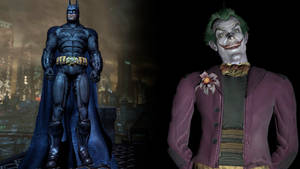 Batman: Arkham City: Injustice Batman and Joker