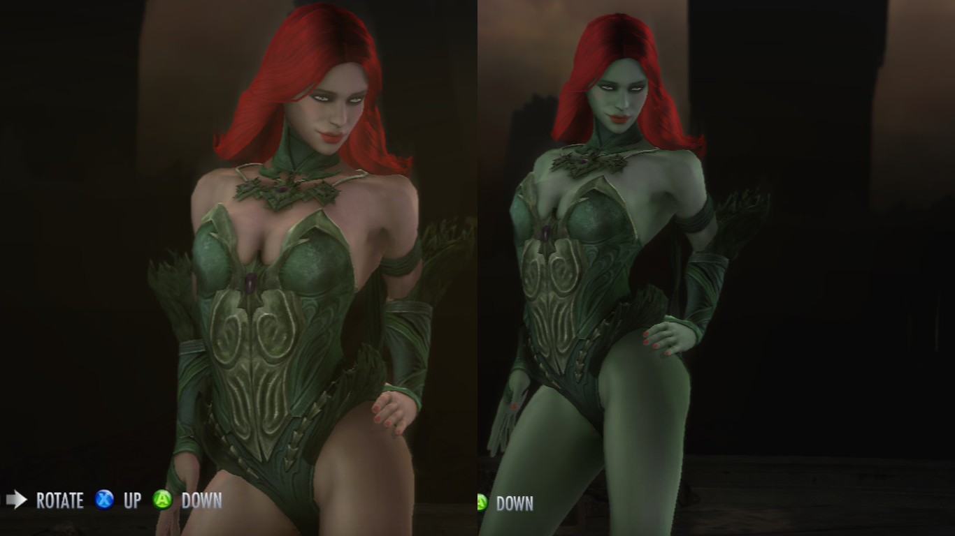 Injustice: Gods Among Us - Poison Ivy Replacer