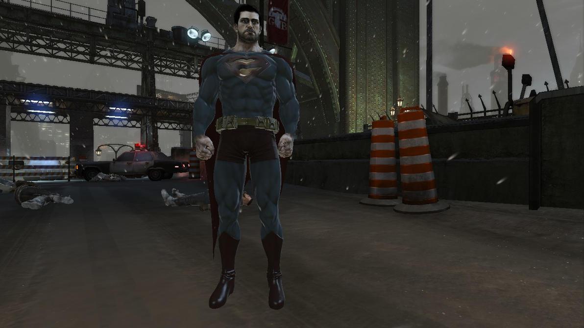 Batman: Arkham Origins: Bizarro Mod by CapLagRobin