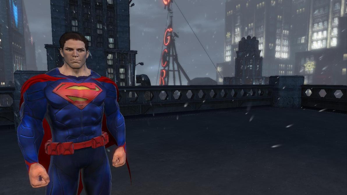 Batman: Arkham Origins: New 52 Superman Mod by CapLagRobin