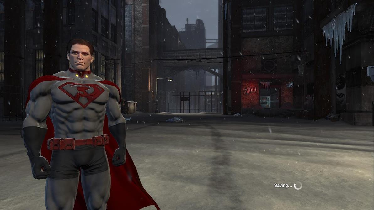 Batman: Arkham Origins: Red Son Superman Mod by CapLagRobin