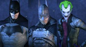 Batman: Arkham Asylum: 2016 Movie Pack