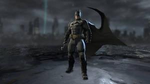 Batman: Arkham Origins: Arkham Knight's v8.03 Suit