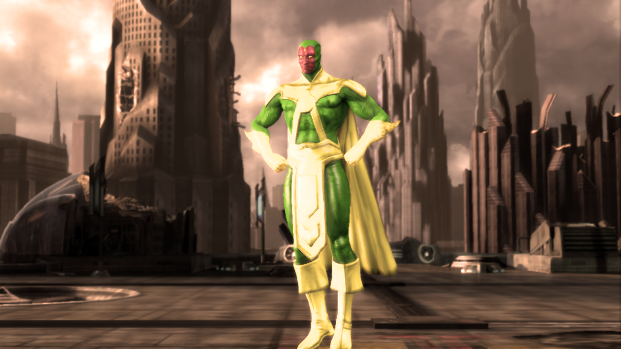 Injustice: Gods Among Us - Non-Movie Vision