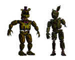 Accurate Nightmare Fredbear and William Afton Edit