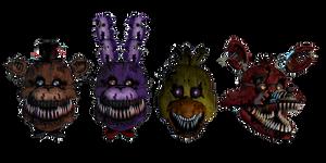Nightmare Classic 4 Heads Edit
