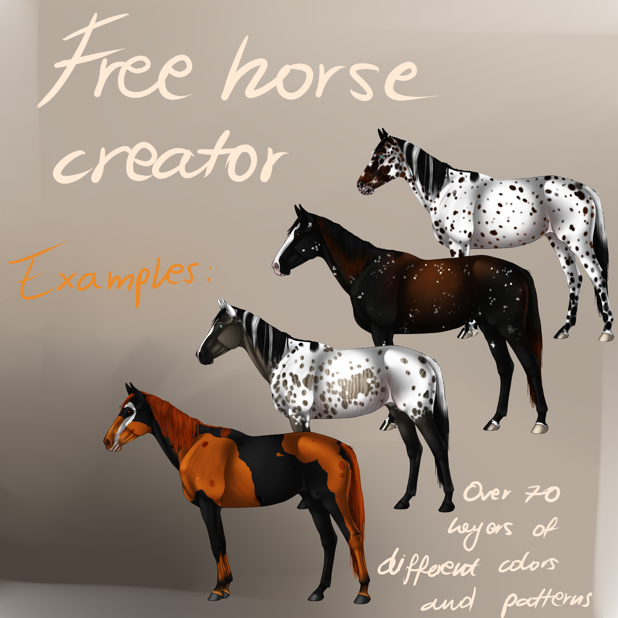 Free Horse Creator!