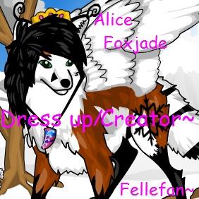 Create Alice Foxjade~