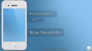 Blue Simplicity. by JesusArtwork
