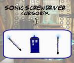 Sonic Screwdriver Cursor