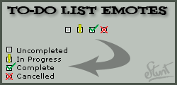To-Do List Emote Set by mattdanna