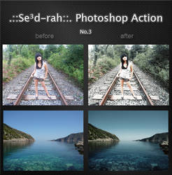 Sedrah Photoshop Action No3 by Sed-rah-Stock