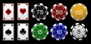Poker Vector Resources Pack