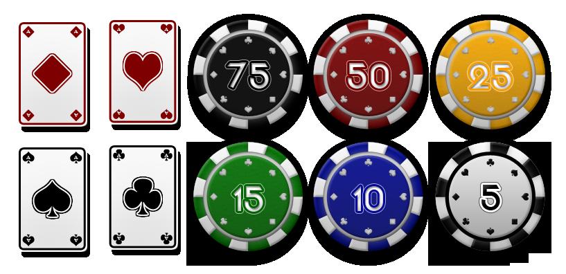 Poker point jeton afx 4 way split slot car set