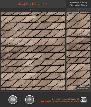 Roof Tile Pattern 1.0