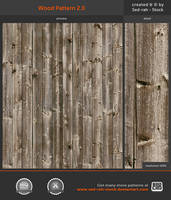 Wood Pattern 2.0 by Sed-rah-Stock