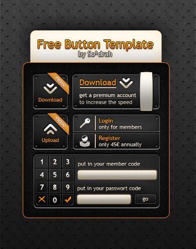 Button Template 1.0