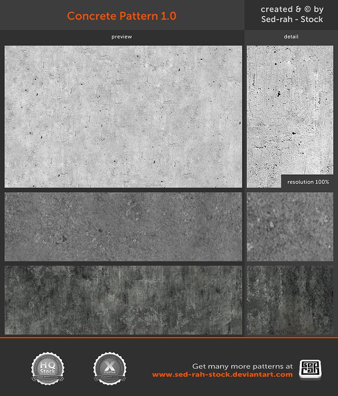 Concrete Pattern 1.0