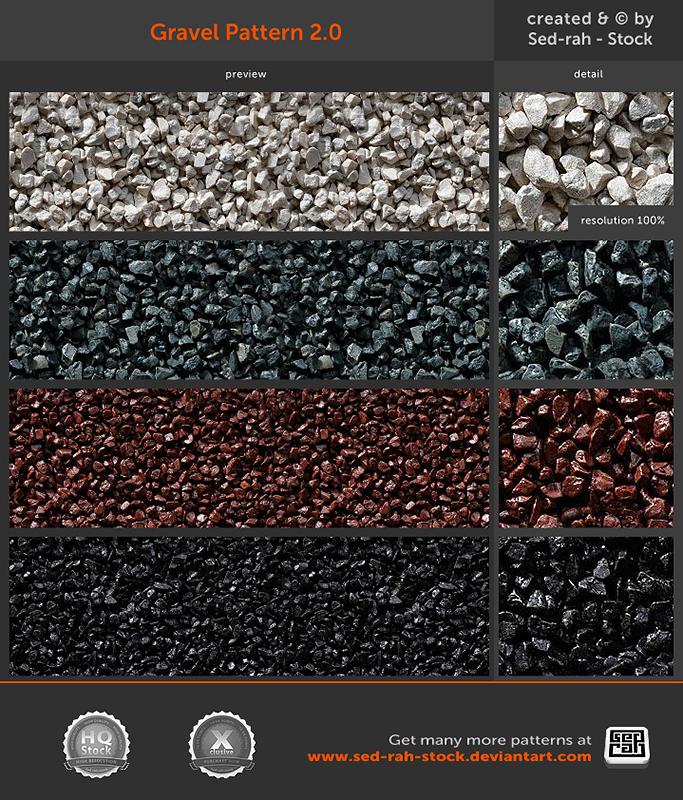 Gravel Pattern 2.0 by Sed-rah-Stock