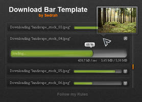 Download Bar Template by Sed-rah-Stock