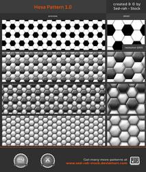 Hexa Pattern 1.0 by Sed-rah-Stock