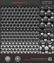 Hexa Pattern 2.0 by Sed-rah-Stock