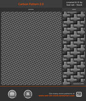 Carbon Pattern 2.0 by Sed-rah-Stock