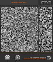 Gravel Pattern 3.0 by Sed-rah-Stock