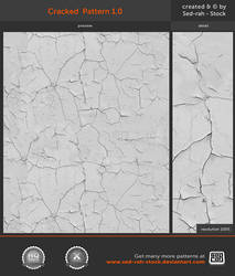 Cracked Pattern 1.0 by Sed-rah-Stock