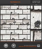Tile Pattern 1.0 by Sed-rah-Stock