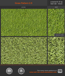 Grass Pattern 2.0 by Sed-rah-Stock