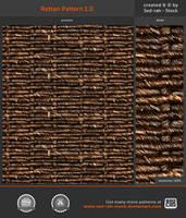 Rattan Pattern 1.0 by Sed-rah-Stock