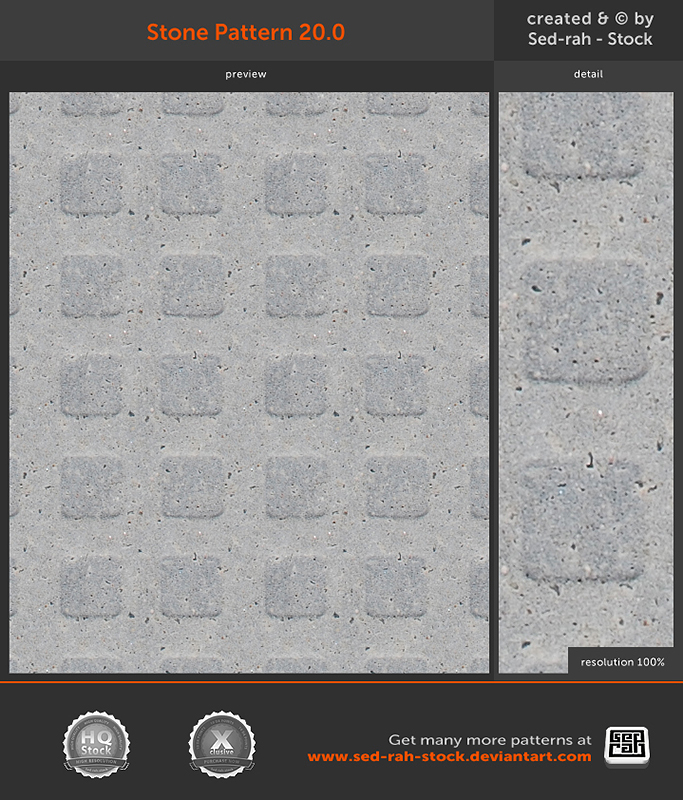 Stone Pattern 20.0 by Sed-rah-Stock