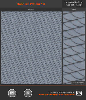 Roof Tile Pattern 3.0